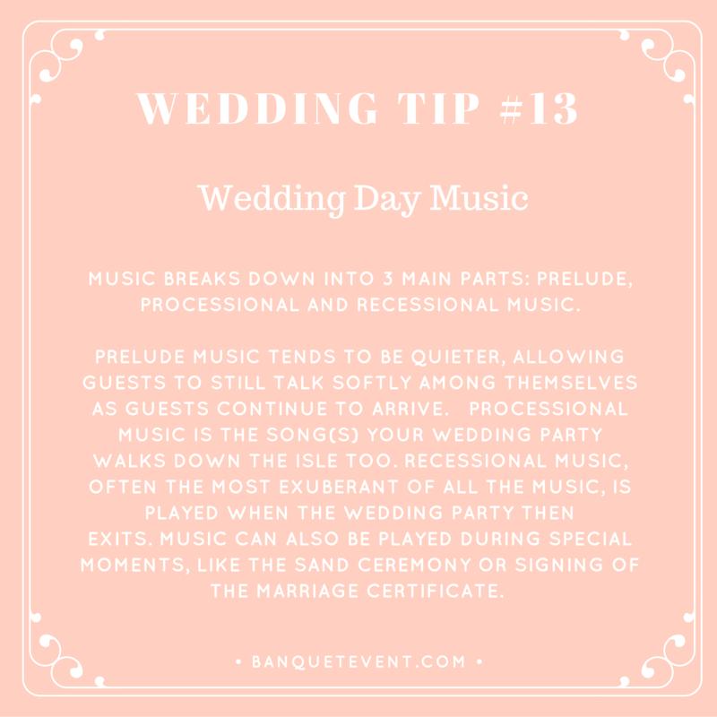 Wedding Tip #13 - Wedding Day Music | B&E Lucky in Love Blog