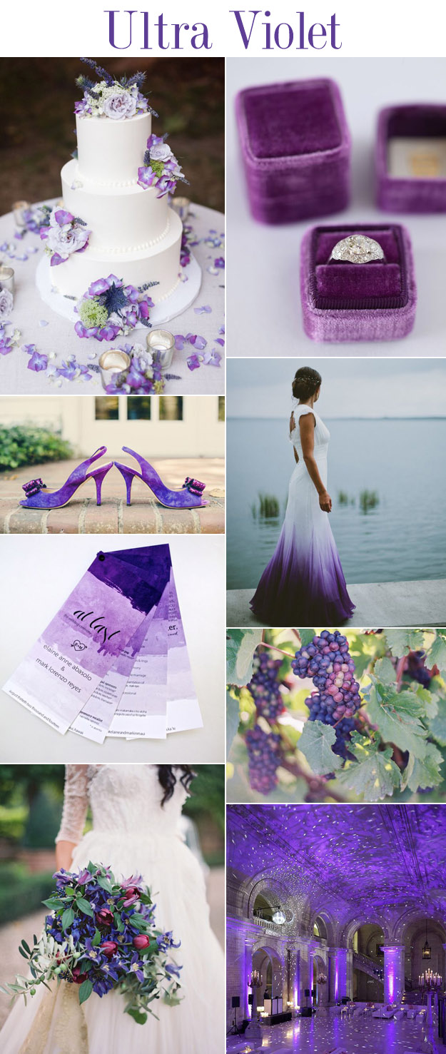 Ultra Violet - Pantone 2018 Color of The Year | B&E Lucky in Love Blog