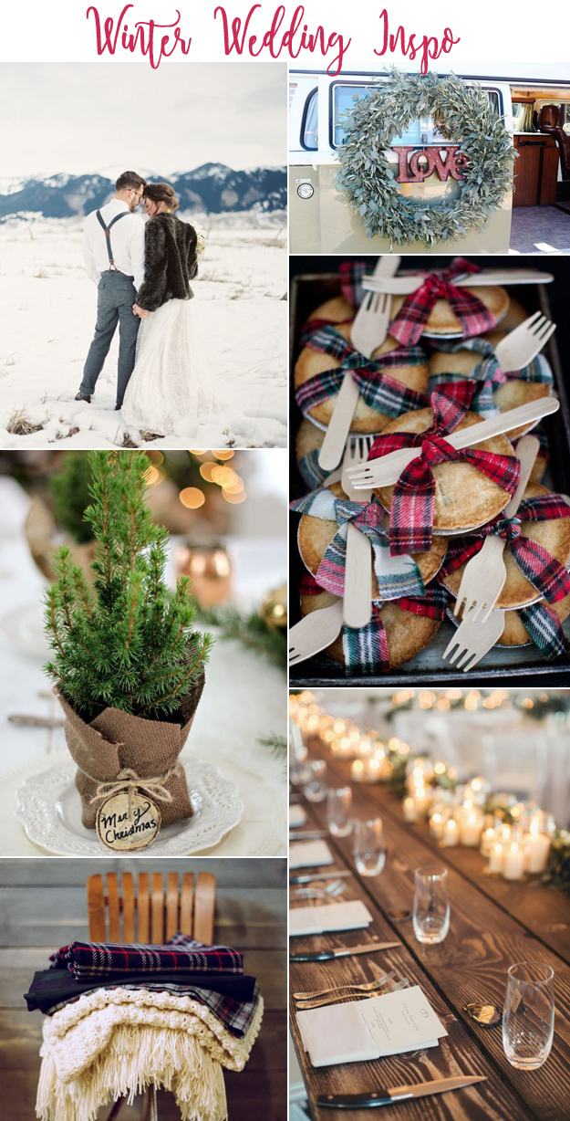 Warm and Fuzzy Winter Wedding Inspiration | B&E Lucky in Love Blog