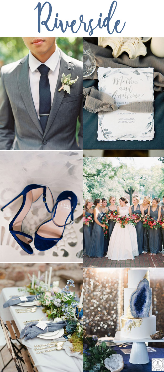Riverside Wedding Inspiration | Lucky in Love Blog