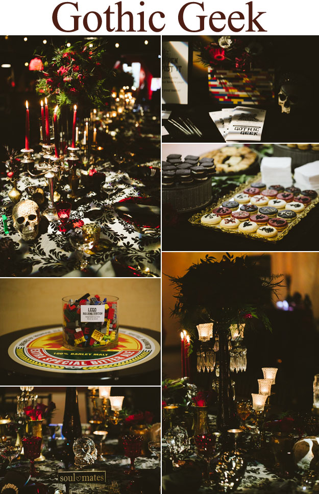 Gothic Geek Weddings In Woodinville | B&E Lucky in Love Blog