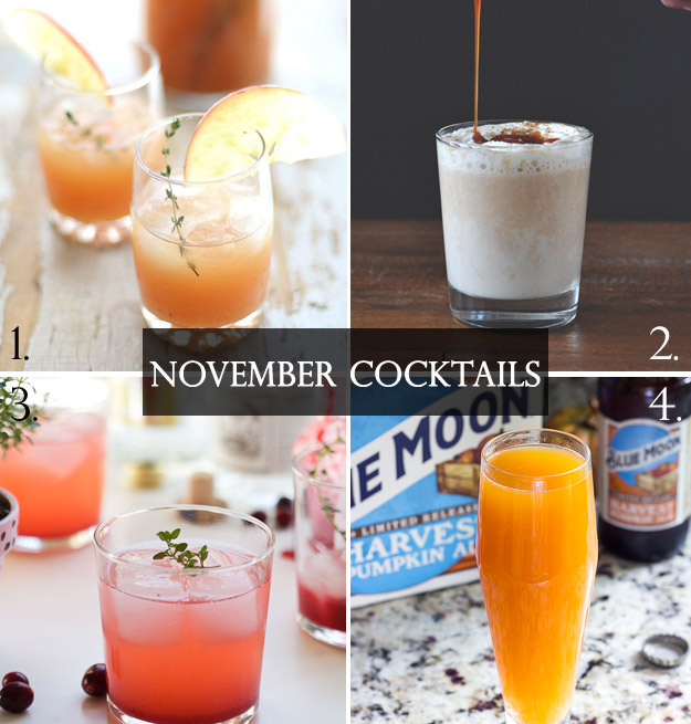 The Flavors of Fall: November Cocktails | B&E Lucky in Love Blog
