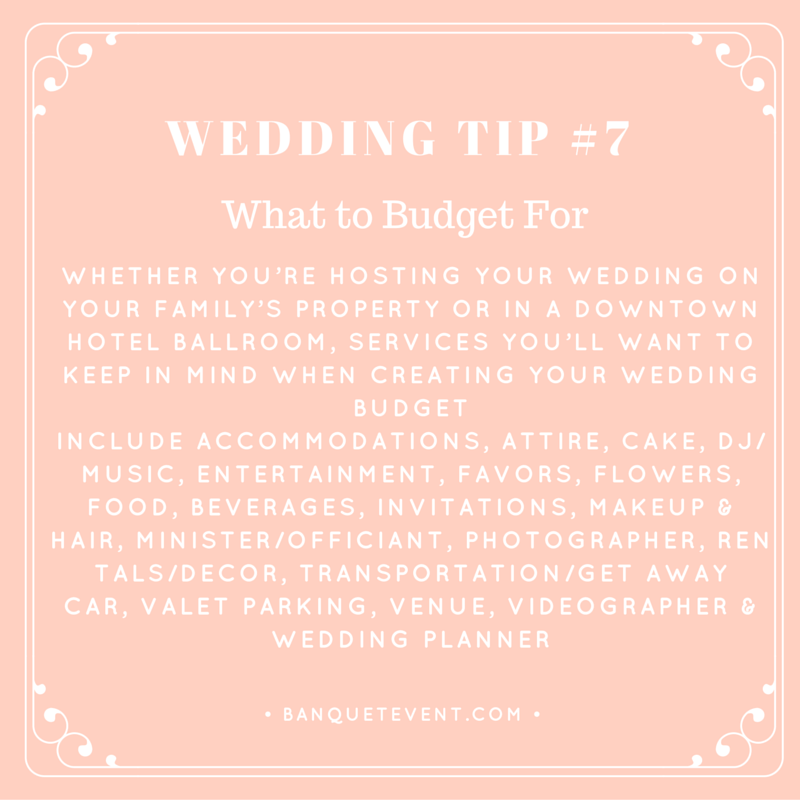 Wedding Tip 7 What To Budget For B E Lucky In Love Blog