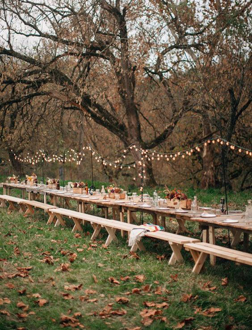 Simple and Beautiful Fall Wedding Inspiration | B&E Lucky in Love Blog