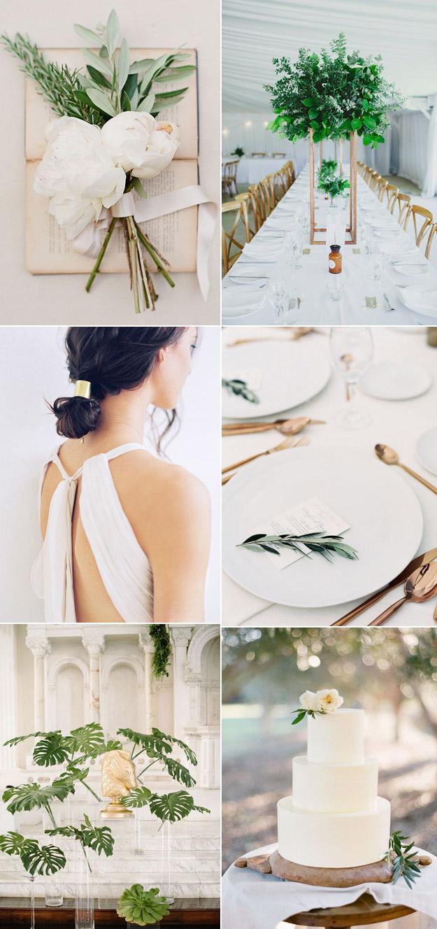 Minimalist Wedding Inspiration That Isn't Boring | B&E Lucky in Love Blog