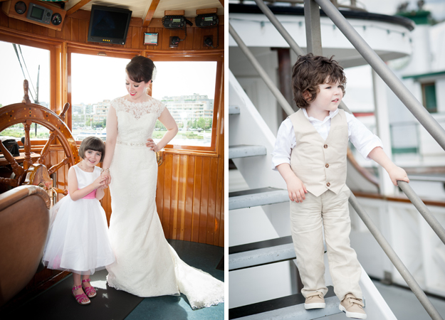 Washington Ferry Wedding