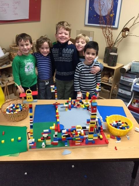 Lego play
