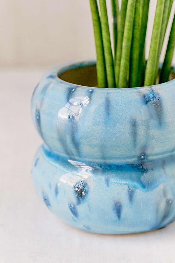 Urban Outfitters Sarah Glazed Ceramic Planter, $10