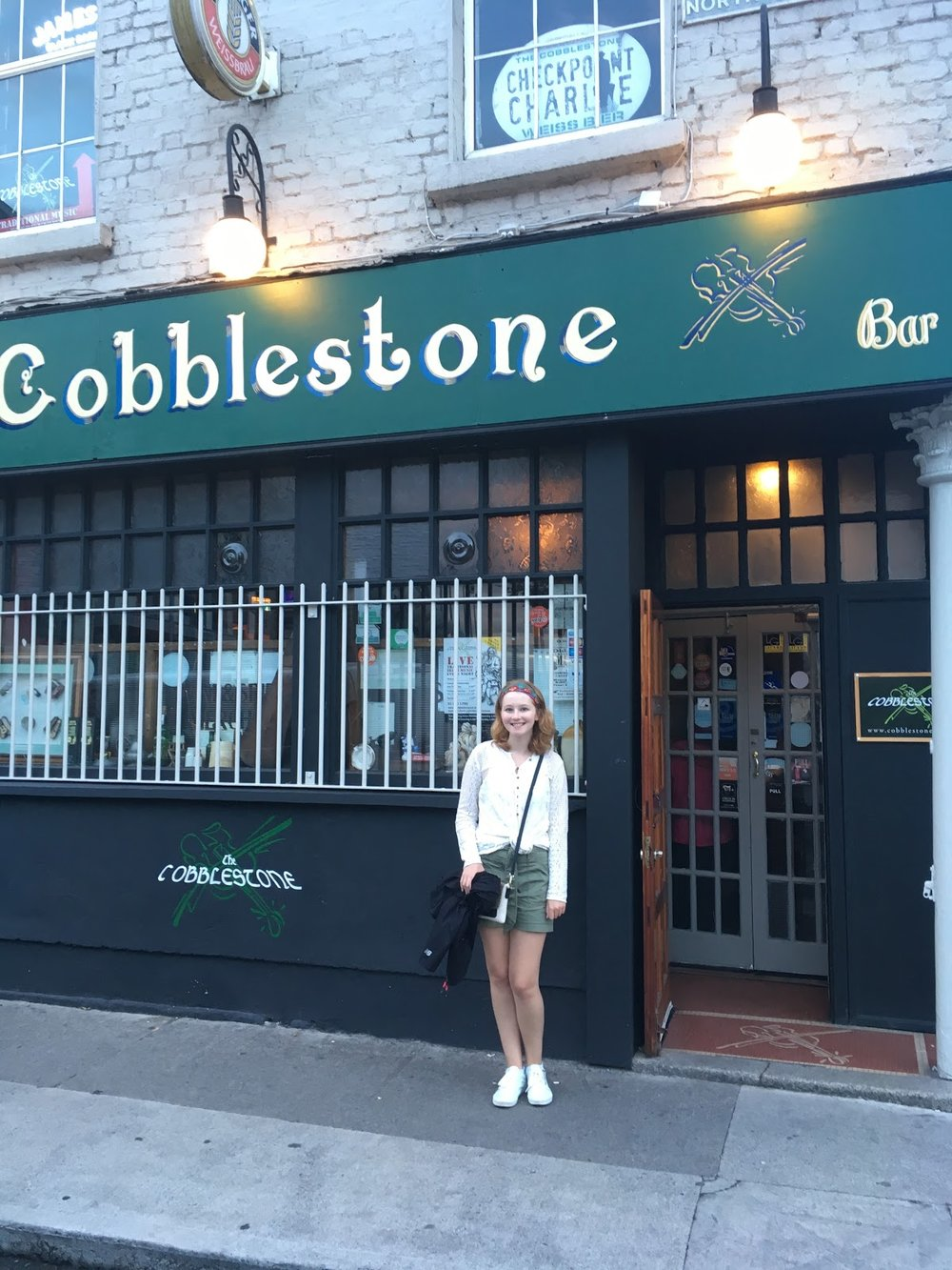 Located in one of Dublin's oldest neighborhoods, the charming Cobblestone Pub has live music every night.
