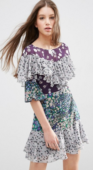 ASOS Tiered Dress $26