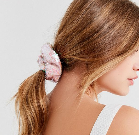 Urban Outfitters Sequin Scrunchie  $6
