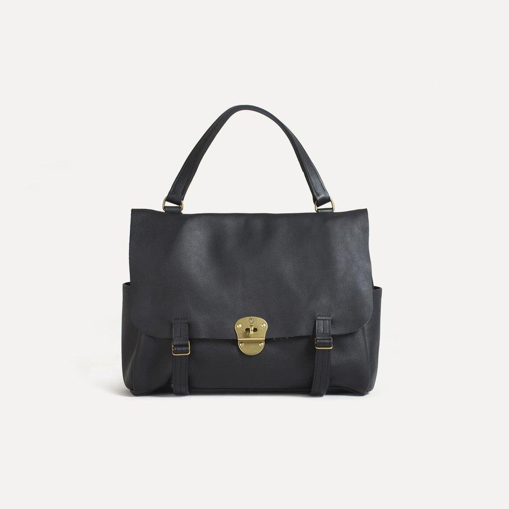 69e071ed5c COLINE | leather handbag | black