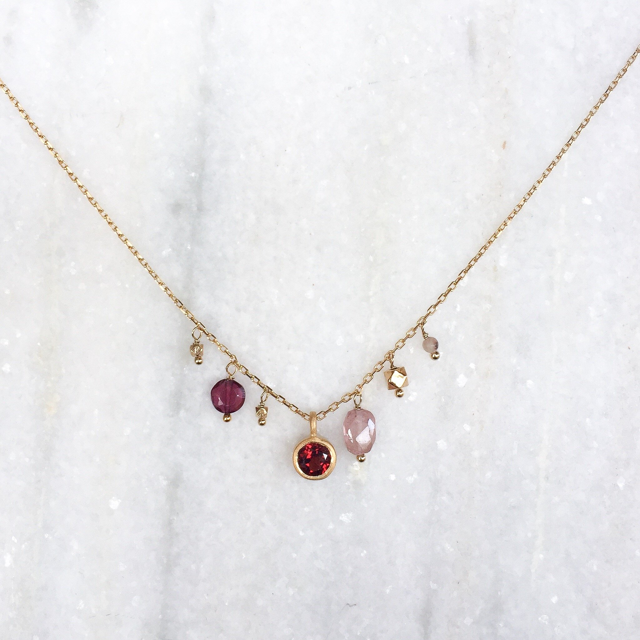 Rhodium-plated 925 Silver Precious Pendant with 18 Necklace Jewels Obsession Precious Necklace