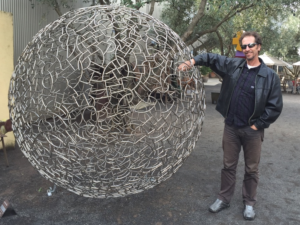 dan and the giant sphere