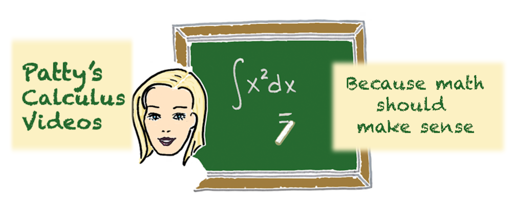 Patty Leitner has been making instructional math videos for decades, and you can link to her calculus videos here!