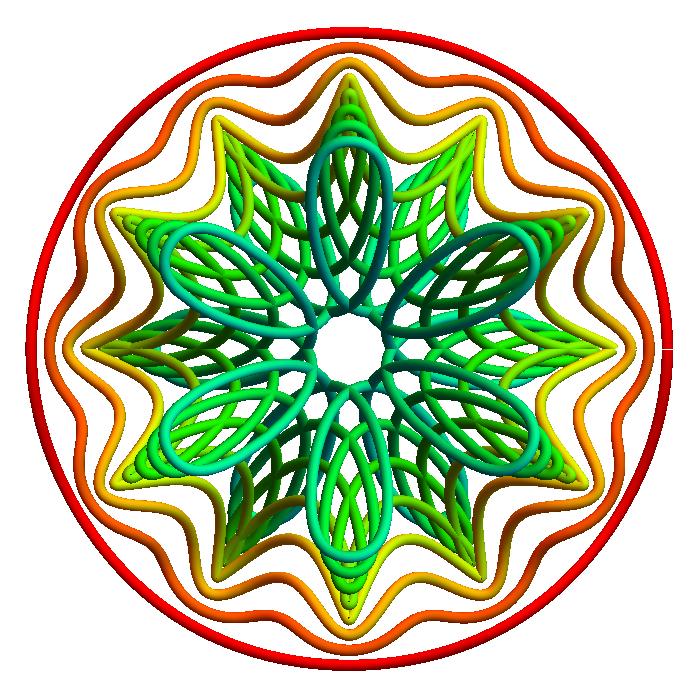 the dansmath logo (top view)