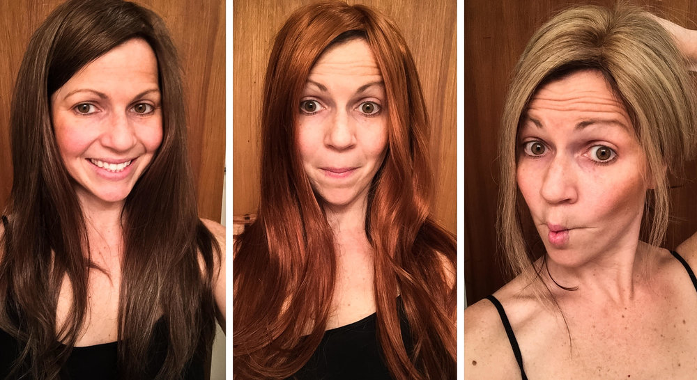 Easy way to change your hair color every day.