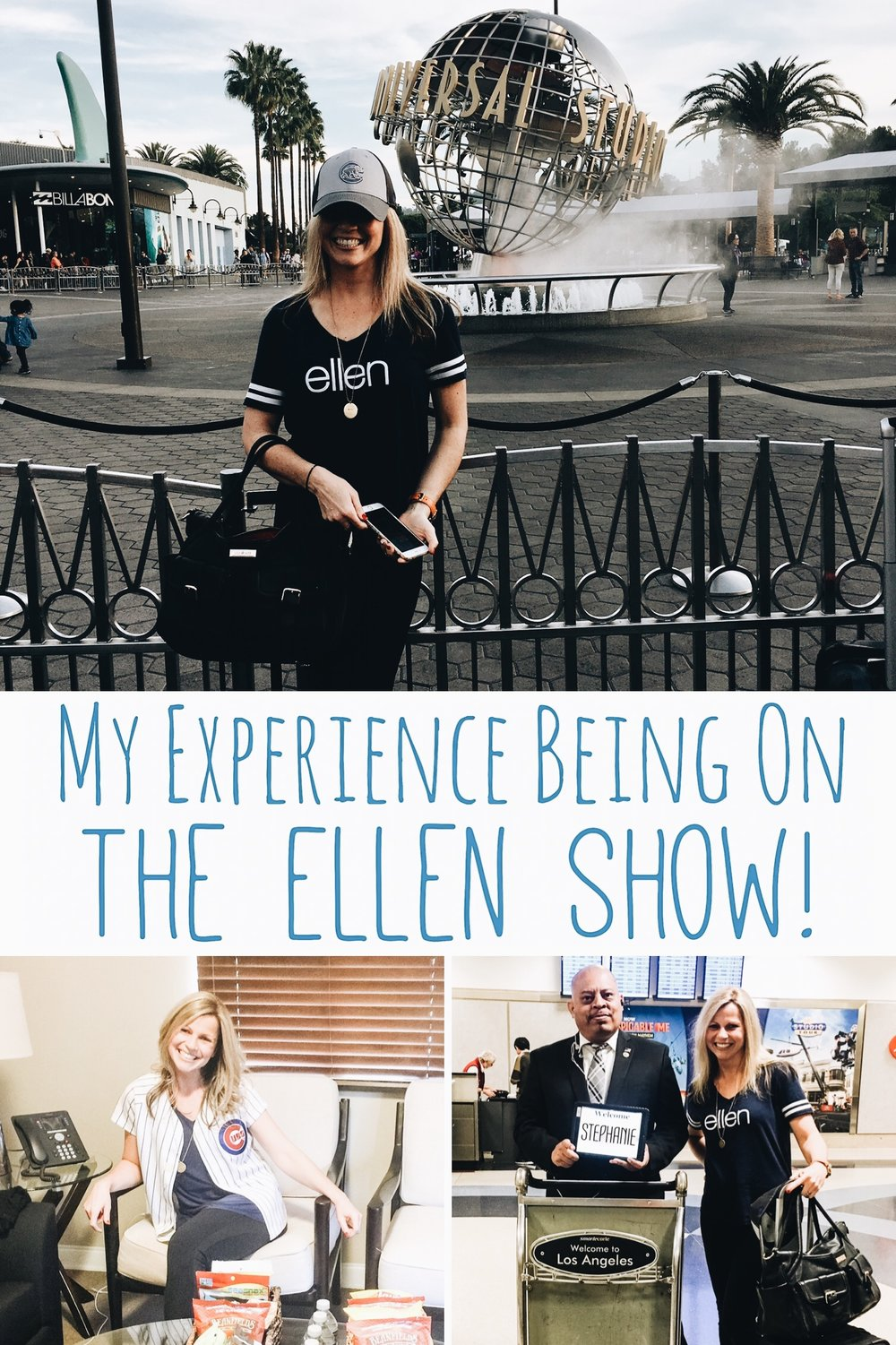 What It's Like To Be On The Ellen Show!