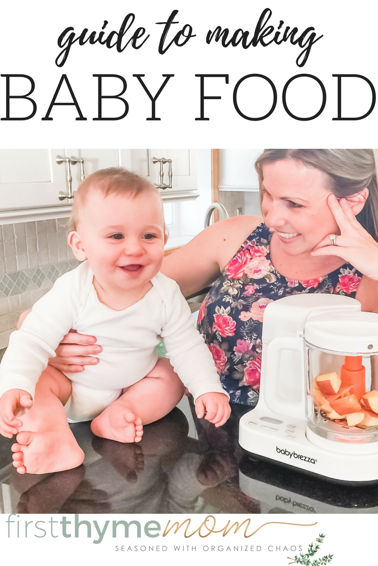 Guide to making your own baby food. Food processors for making baby purees.
