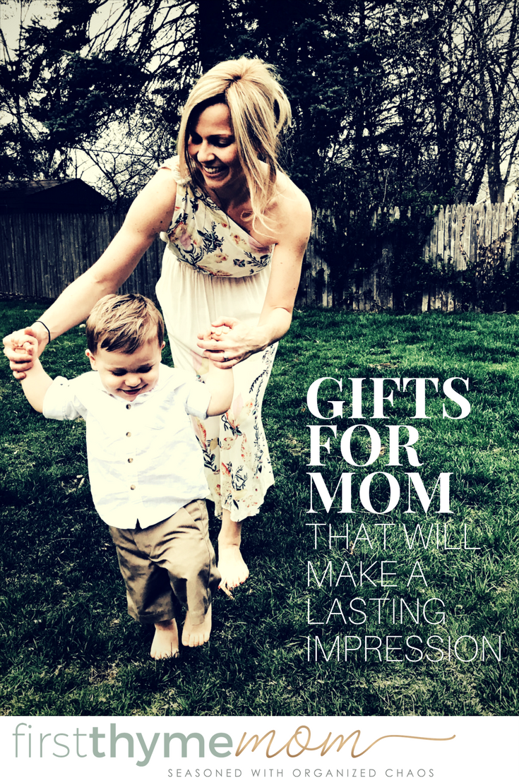 Gifts for Mom that will make a lasting impression the Mother's Day! These unique ideas will sure to make any mom in your life feel extra special! The unique gift ideas are perfect for Mother's Day!