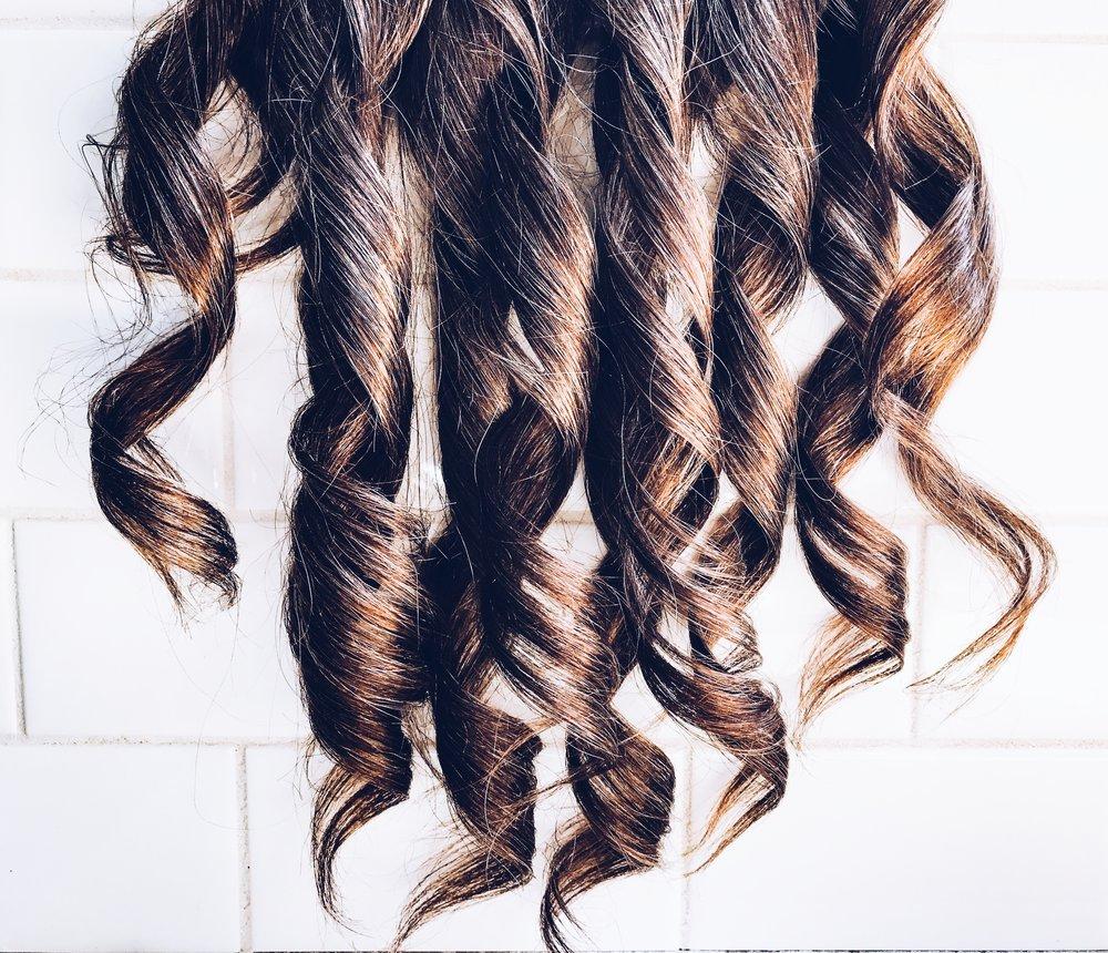 Curled Tressmerize Hair.