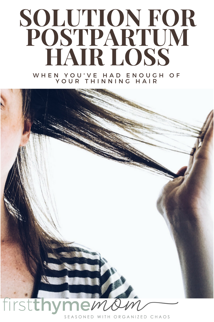 My postpartum hair loss kept getting worse and worse. Here you will find my solution for postpartum hair loss after pregnancy. These are the best hair toppers for thinning hair.