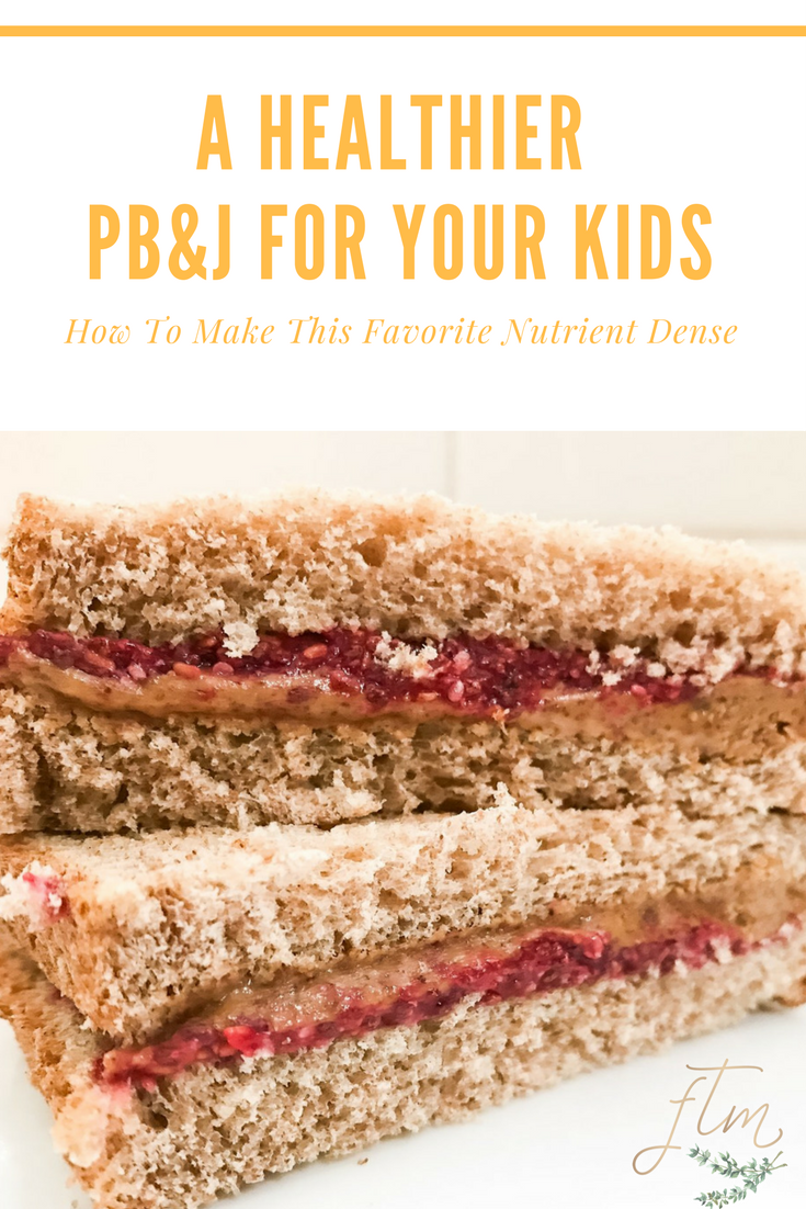 How To Make PB&J a Healthier Meal Option. These tips will help to make this favorite a more nutritionally dense meal for your kids.