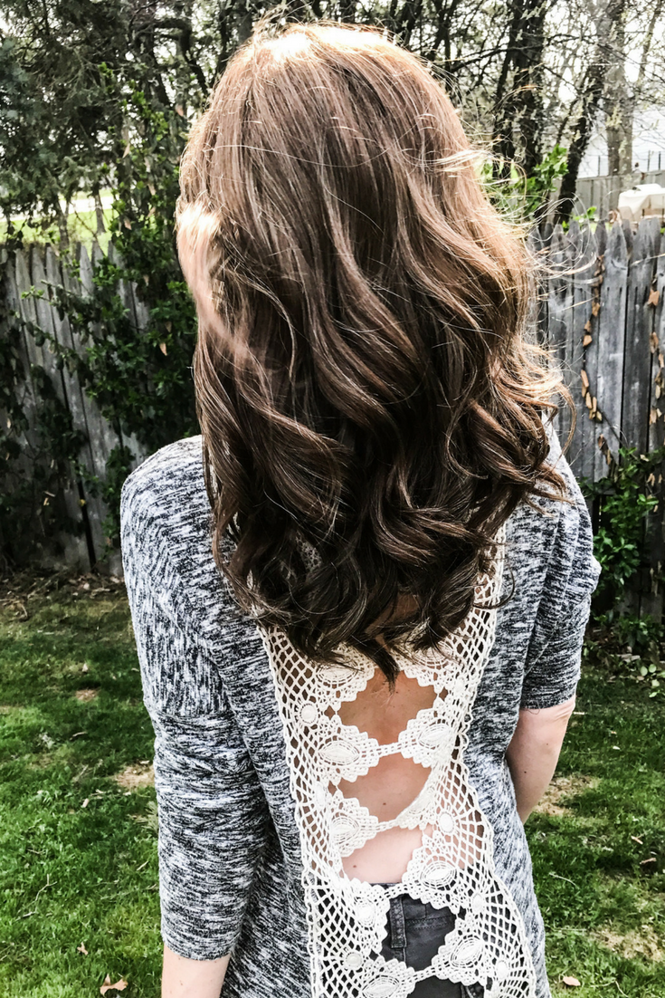 Tressmerize hair extensions. Hair styles for hair extensions, wigs, and toppers. How to cope with postpartum hair loss. How to style extension hair.