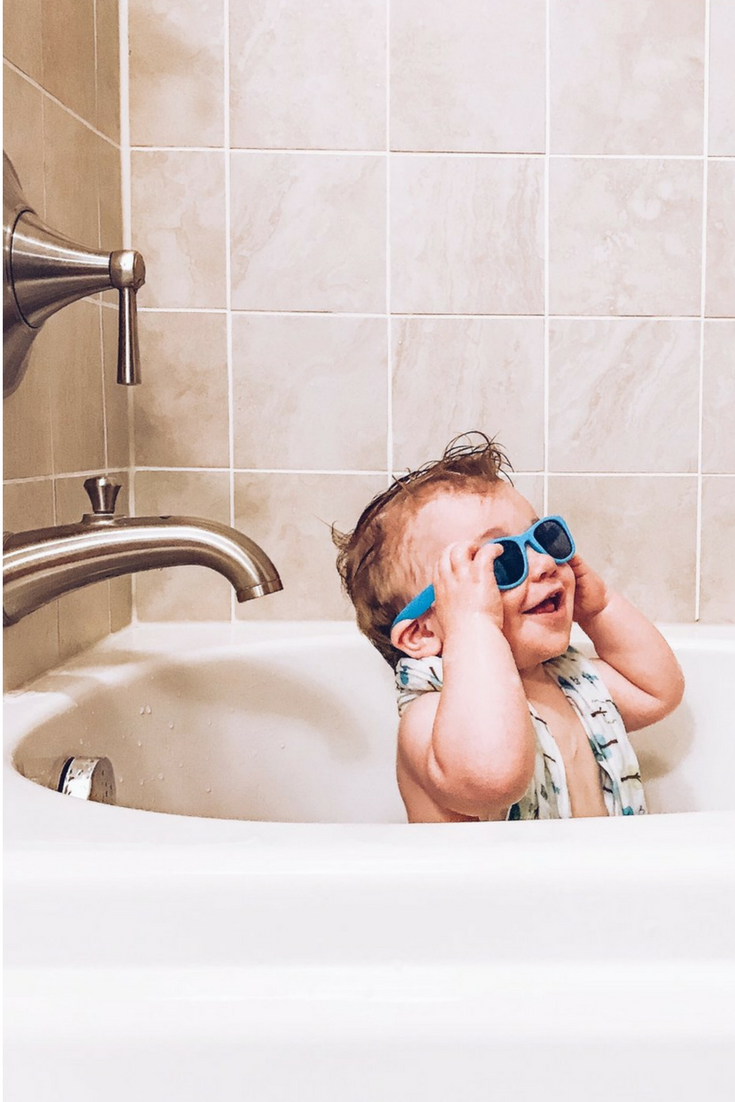 Real Shades Flexible Toddler Sunglasses. Best sunglasses for babies.