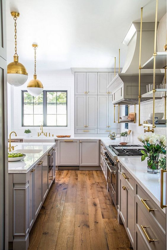 How To Design a Non-White Kitchen in a White Kitchen World. Above photo from homebunch.com, photo take by @dustylu