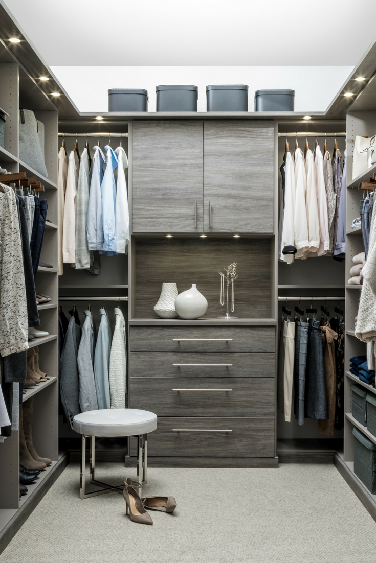 How a Beautifully Functional Custom Closet Can Be Yours – Inspired Closets Makes It Easy. #ILoveMyCloset #InspiredClosets