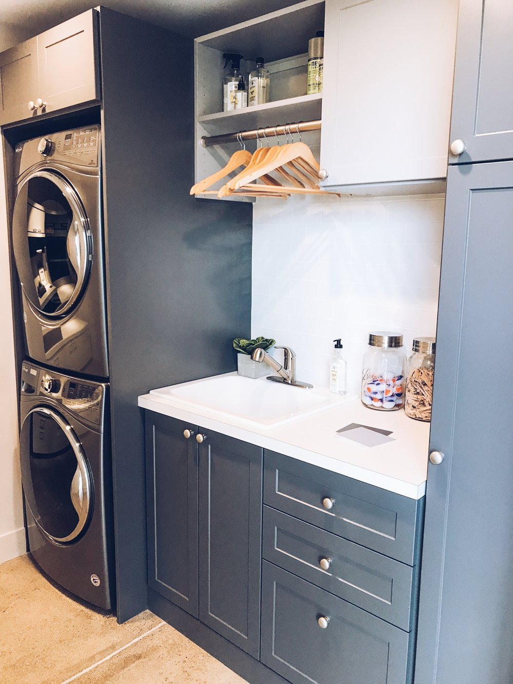 Laundry Room Organization from Inspired Closets