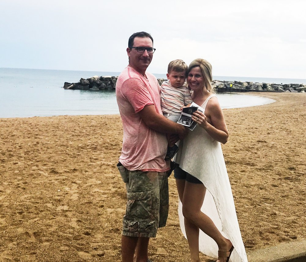 Happy Father's Day Pregnancy Announcement