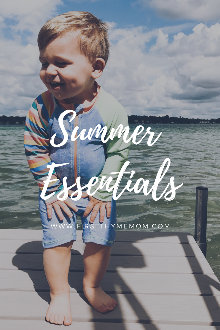 Summer Essentials For Fun In The Sun - First Thyme Mom