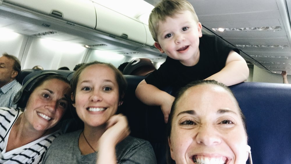 How To Fly While Pregnant With A 23 Month Old On Your Lap