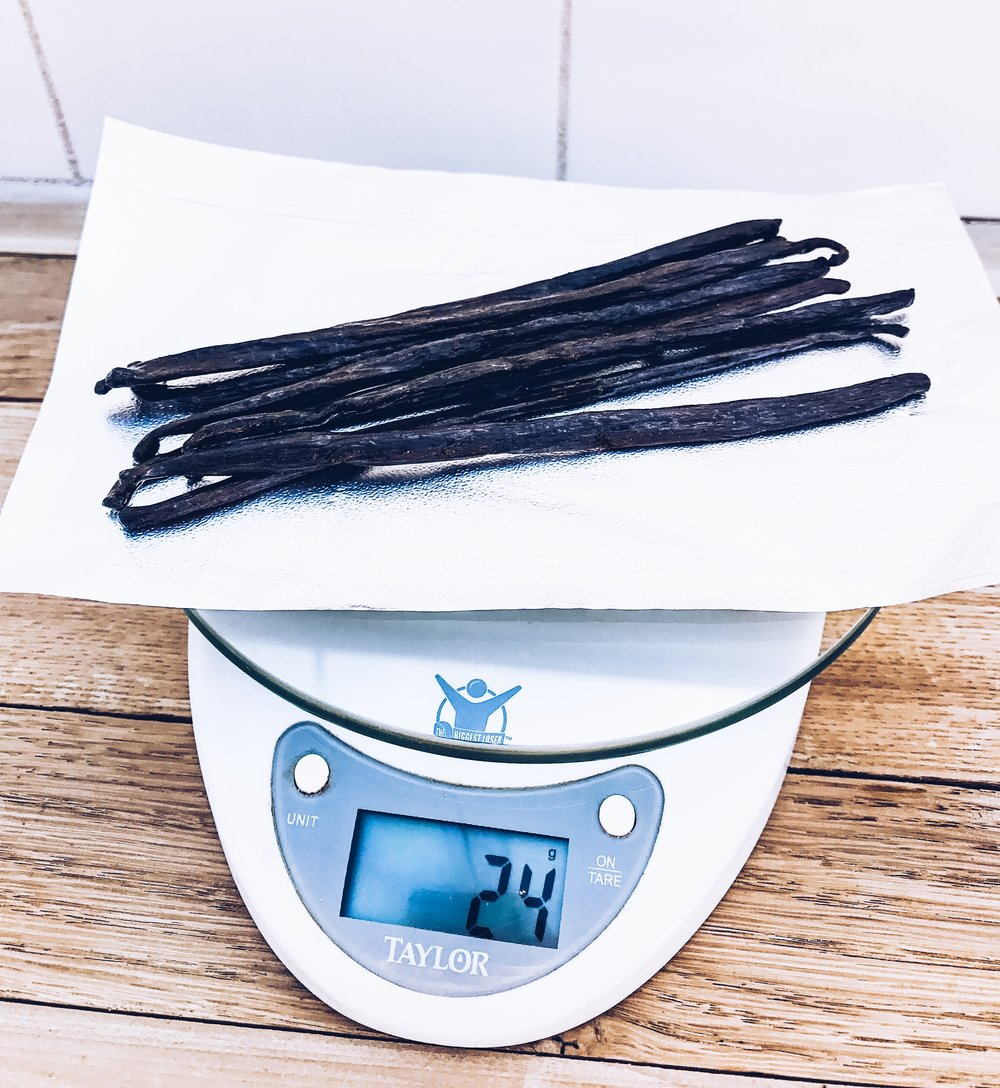Measure Your Vanilla Beans - How To Make Your Own Vanilla Bean Extract