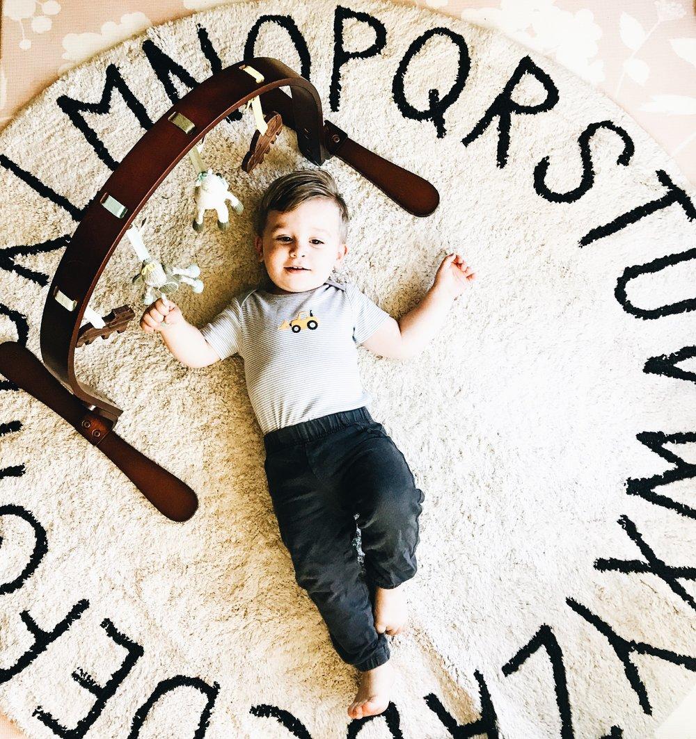 Lorena Canal Nursery Rugs - Washable rugs for a baby's nursery