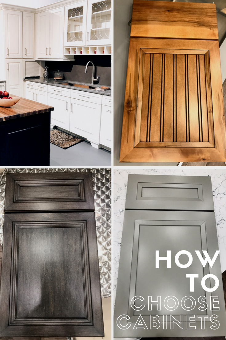 How To Choose and Select Kitchen Cabinets For Your Home - Beaded Cabinets, Five Piece Panels, Stains, Glazes, Custom Painting