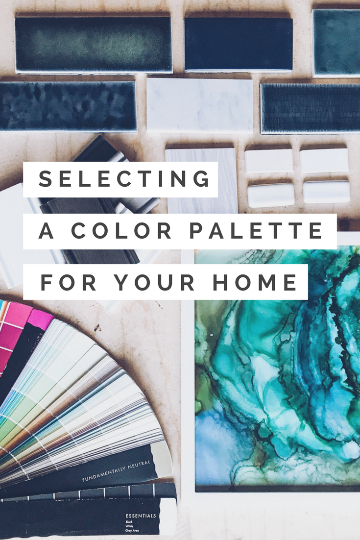 Selecting a Color Palette For Your Home. How to choose design colors for different rooms of your house.