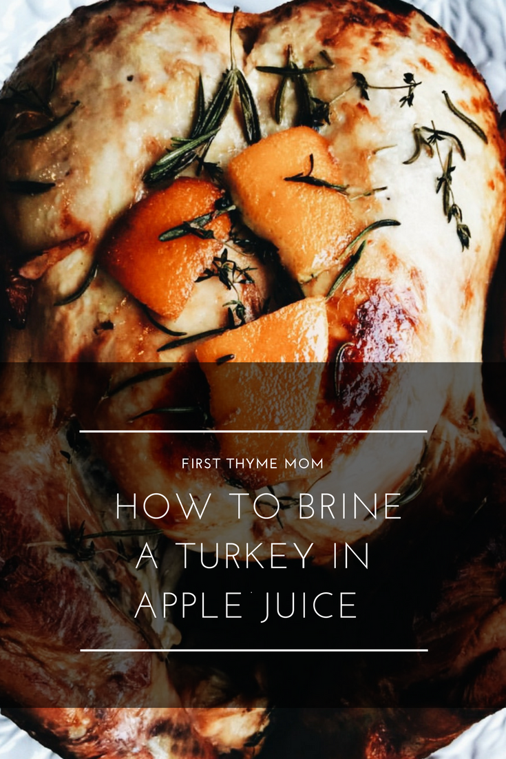 How To Brine A Turkey In Apple Juice. How to make turkey juicy using an apple juice brine recipe. Thanksgiving turkey marinade recipe. #Thanksgiving #turkey #cookingaturkey #turkeybrine