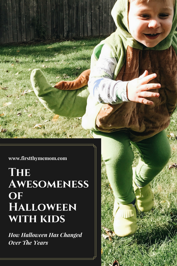 The Awesomeness of Halloween With Kids. How Halloween Had Changed As Kids Came Into Our Lives.