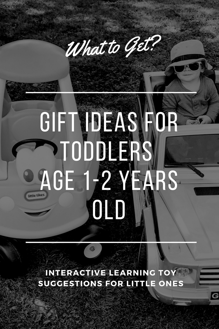 Gift Ideas For 1 To 2 Year Old Toddlers. What to get a toddler as a gift. Gift ideas for one and two year olds.