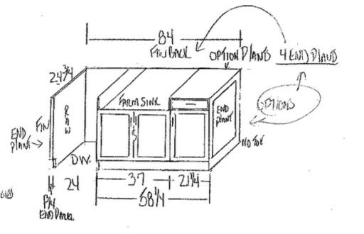 Kitchen Island Design.