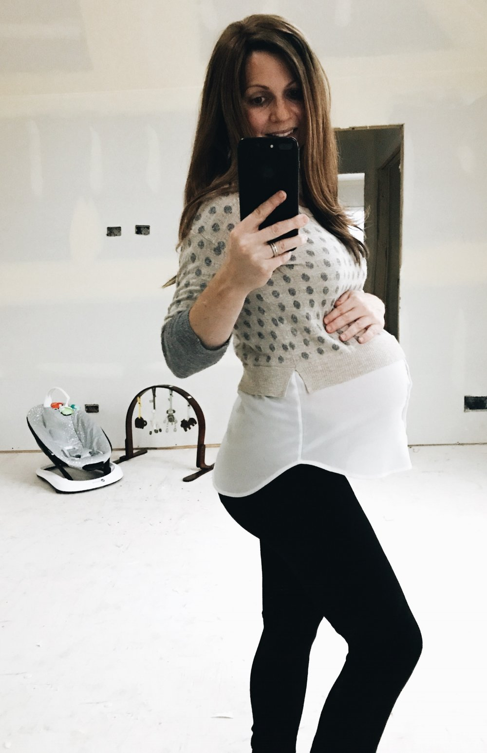 36 Week Bumpdate. What it's like to be 8 months pregnant. #pregnancy