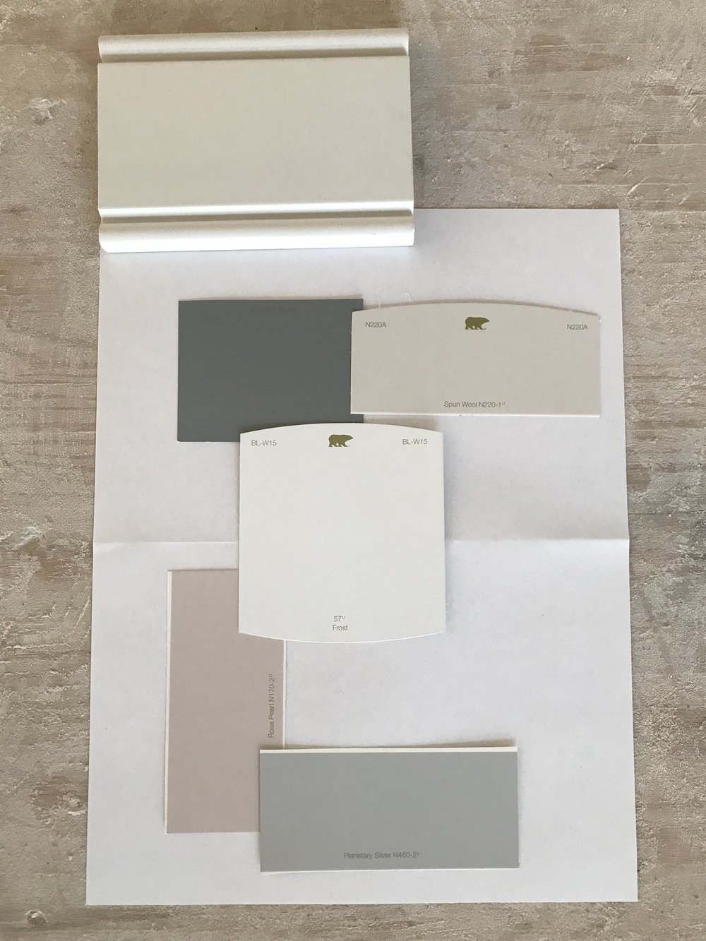 First Floor Paint Selection