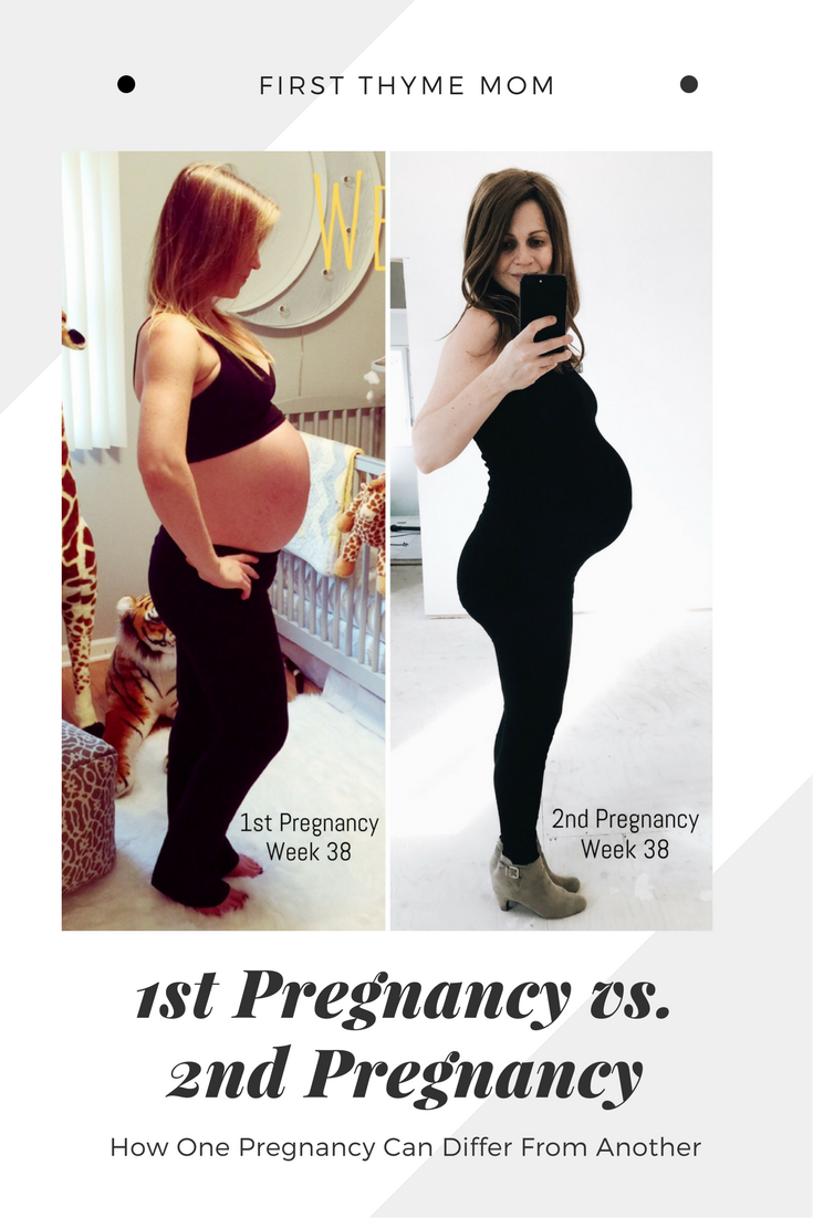 38-Week Bumpdate. How one pregnancy can differ so much from another. First pregnancy compared to second pregnancy. #38weekspregnant