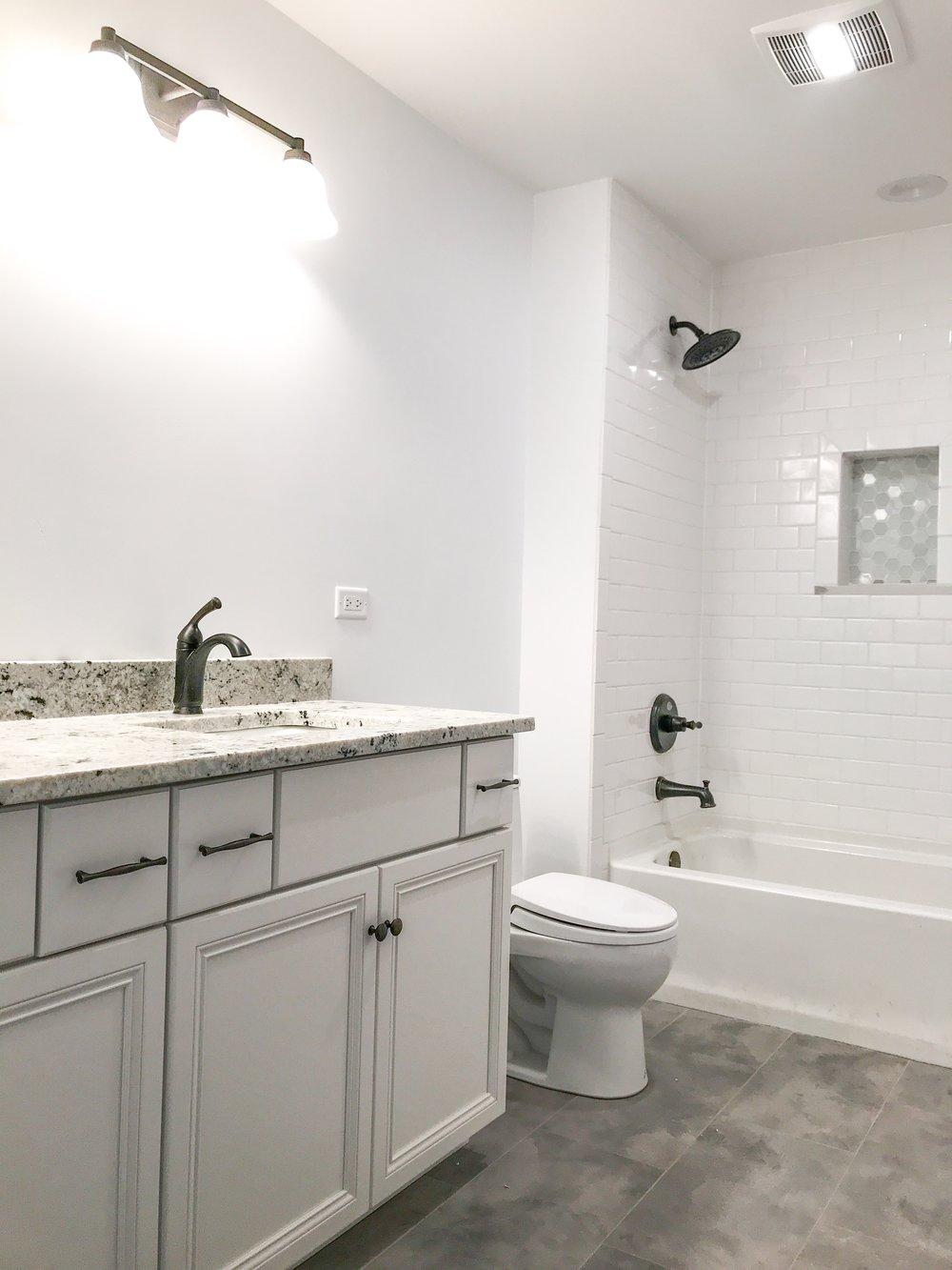 Second Floor Bathroom Design