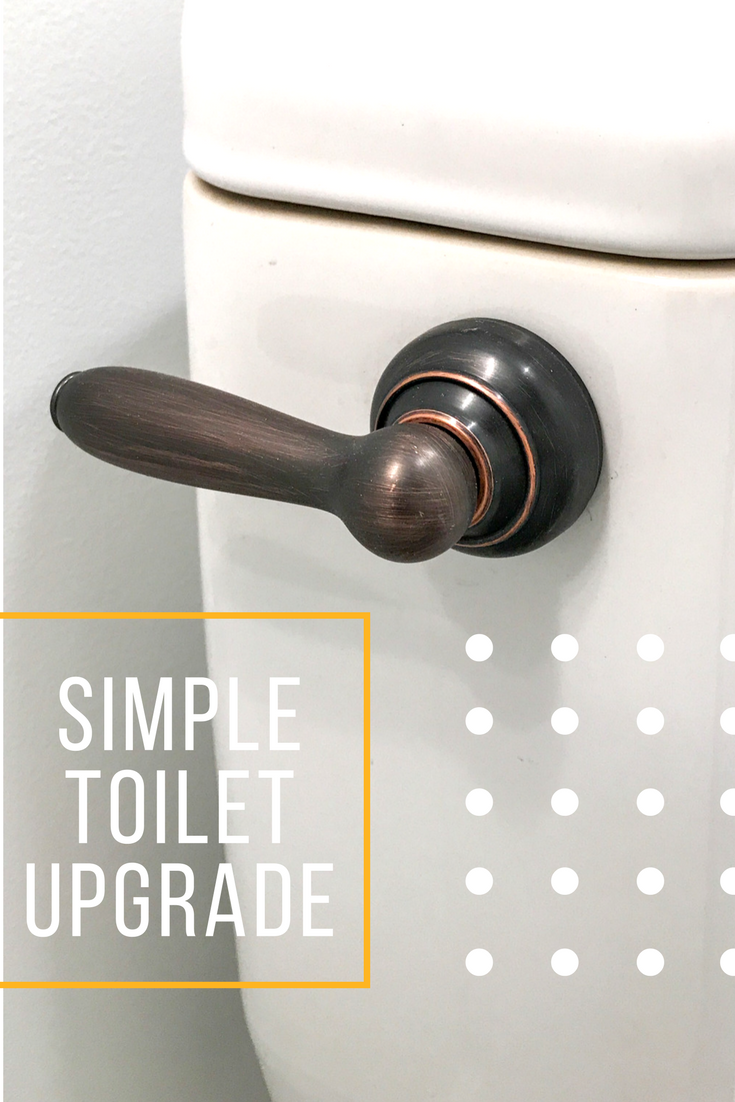 Salvaged Toilets - How To Give Your Toilet a New Look. How To Upgrade Your Toilet. Fluidmaster Tank Levers. #fluidmaster #tanklever #sponsored
