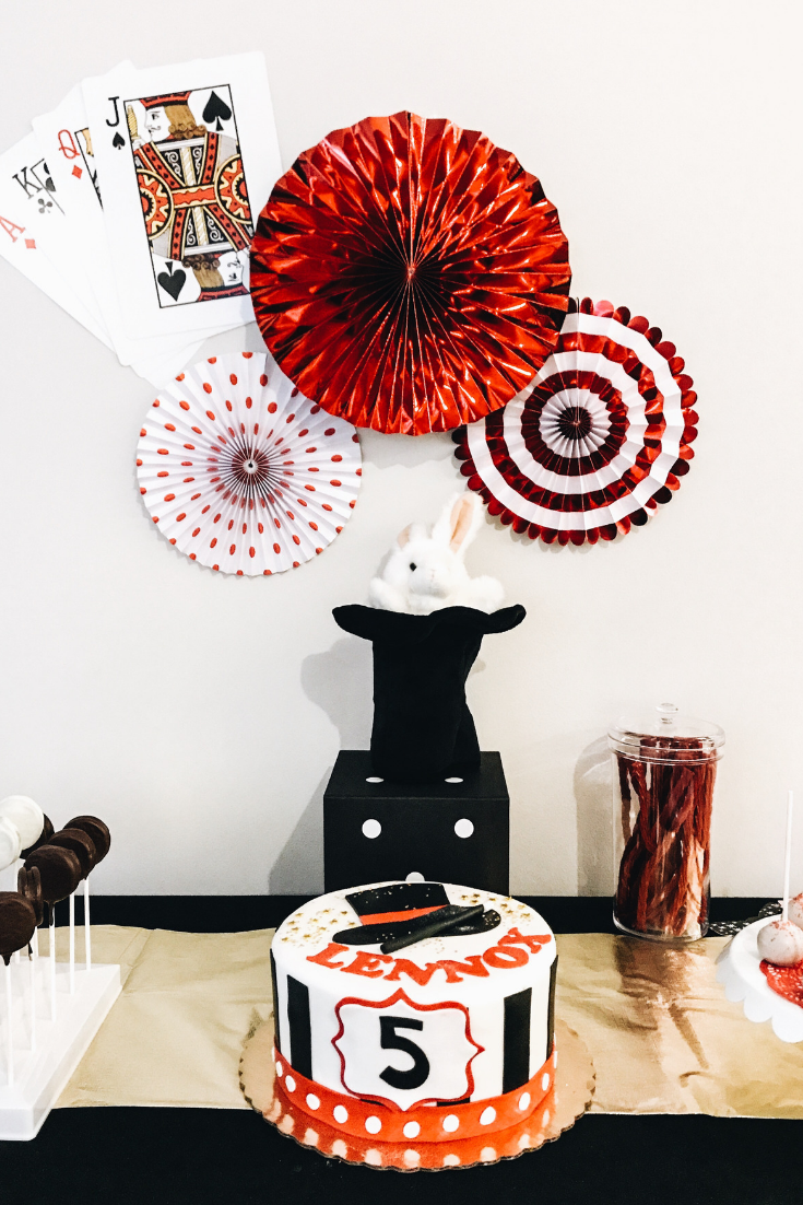 Magic Themed Birthday Party Dessert And Cake Idea Table For