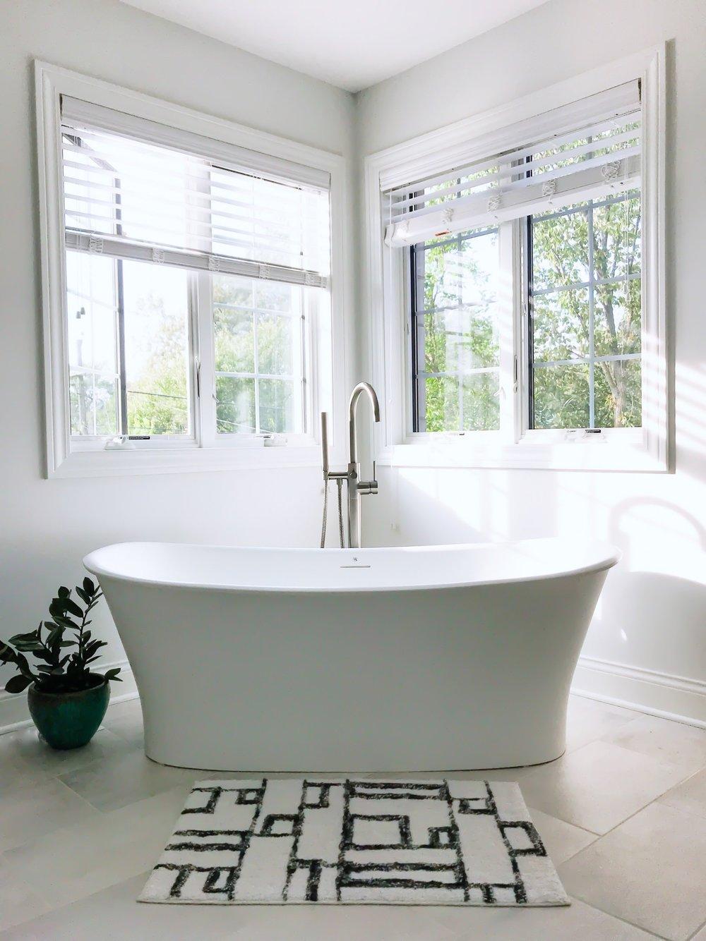 Modern Master Bathroom Ideas First Thyme Mom